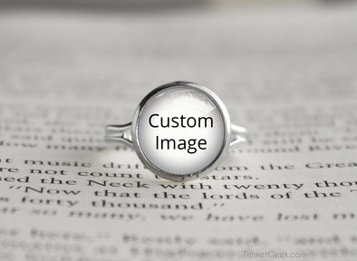 Customized silver Ring