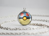 Cyndaquil Pokemon Johto Starter Themed Pokeball pendant