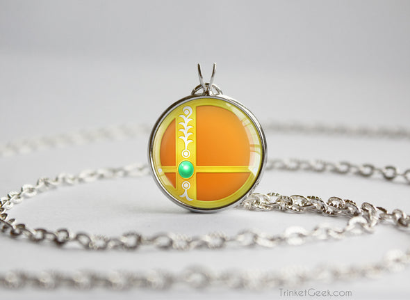 Daisy Smash Ball necklace