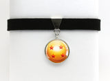 DBZ Choker Necklace Four Star Dragon Ball