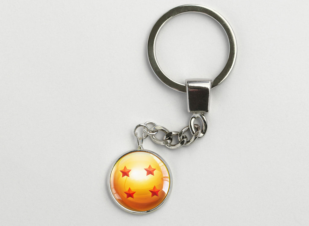 DBZ Key Chain Four Star Dragon Ball