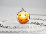 Dragon Ball Z pendant Four Star Dragon Ball Necklace