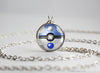 Pokemon Dragonair Themed Pokeball Pendant