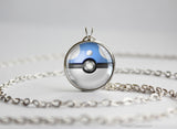 Pokemon Dratini Pokeball Pendant Necklace