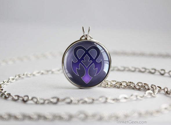 Kingdom Hearts KH Pendant Necklace Dream Eater Nightmare