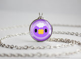 Drifloon Pokemon Chibi Portrait necklace
