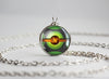 Pokemon Pokeball Dusk Ball Necklace Pendant