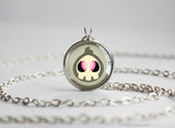 Duskull Pokemon Chibi Portrait necklace
