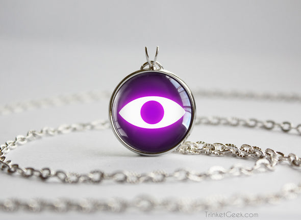 Eerie Youkai Watch Medal Tribe Insignia Necklace Pendant