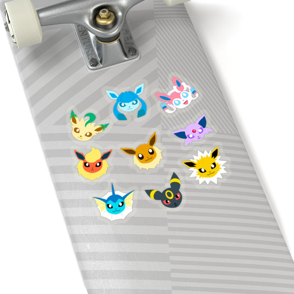 Eeveelution Pokemon Stickers