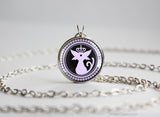 Espeon pokemon Funtomon Black Butler necklace