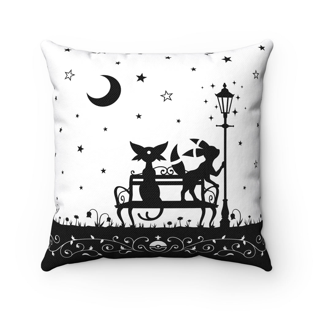 PKMN Eeveelution Starry Night Throw Cushion WHITE