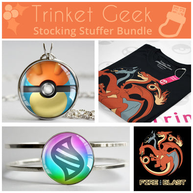 PKMN Fire and Blast Stocking Stuffer Bundle