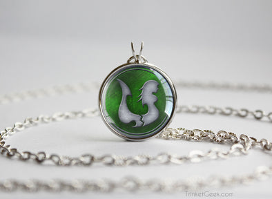 Fairy Tail pendant Lamia Scale guild emblem