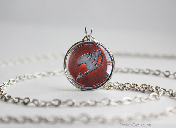 Fairy Tail necklace guild emblem