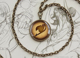 Fairy Tail Bronze Guild Emblem Pendant Necklace