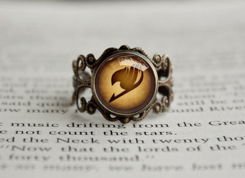 Fairy Tail antique style ring