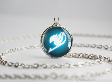 Fairy Tail necklace glowing guild emblem