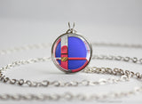 Super Smash Ball Falco necklace