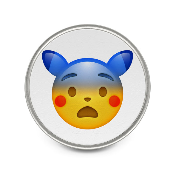 Fearful Face  Pokemon Emoji