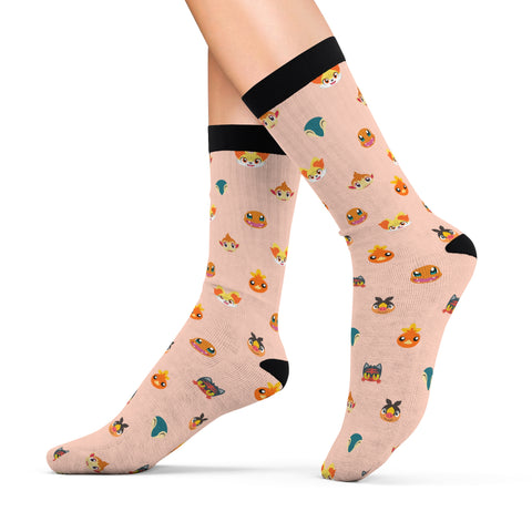 Fire Pokemon Socks