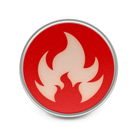 Fire Type Symbol Pokemon Badge Pin