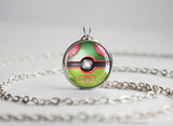 Pokemon Flygon Themed Pokeball Pendant
