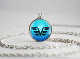 Z Crystal Flyinium Necklace