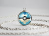 Froakie Pokemon Kalos Starter Themed Pokeball pendant