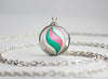 Pokemon Galladite Gallade Mega Stone Pendant Necklace