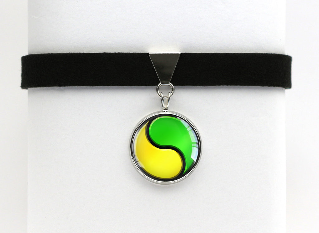 Pokemon Gary Oak Shigeru Okido Choker Necklace