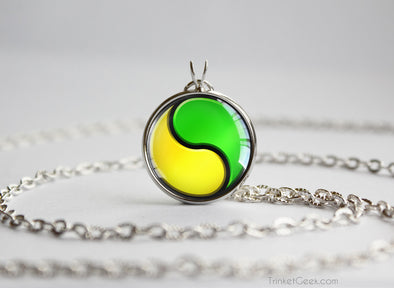Gary Oak Shigeru Okido pokemon necklace