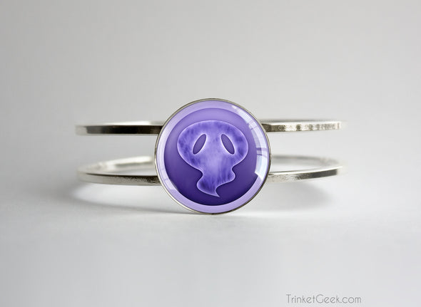 Ghost Type symbol pokemon bracelet