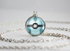 Pokemon Glaceon Eeveelution Pokeball Pendant Necklace