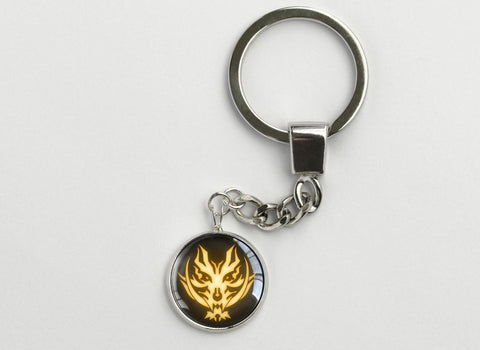 God Eater Fenrir Symbol Key Chain