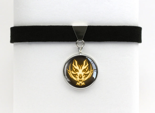 God Eater Fenrir Symbol Choker Necklace