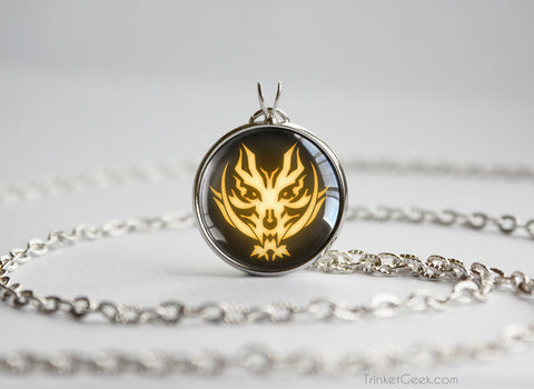 God Eater Burst Fenrir Symbol necklace
