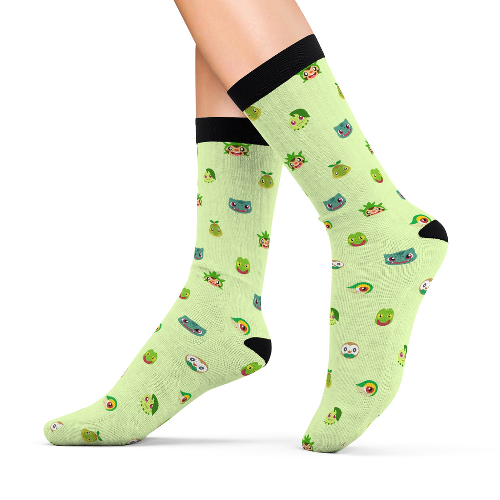 Grass Pokemon Socks