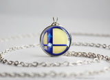 Super Smash Ball Greninja necklace