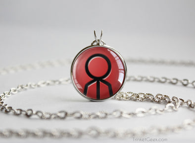 Pokemon Ruby Sapphire Emerald necklace Groudon Symbol