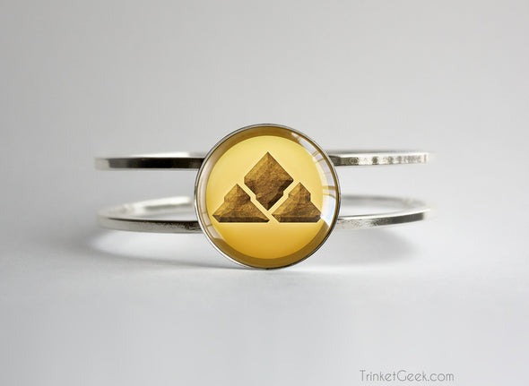 Ground Type symbol pokemon bracelet