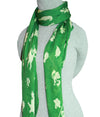 Pokemon Green Grass Type Pokemon Scarf Accessory