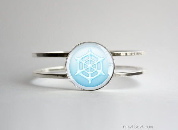 Ice Type symbol pokemon bracelet