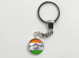 Indian Flag themed Pokeball Key Chains