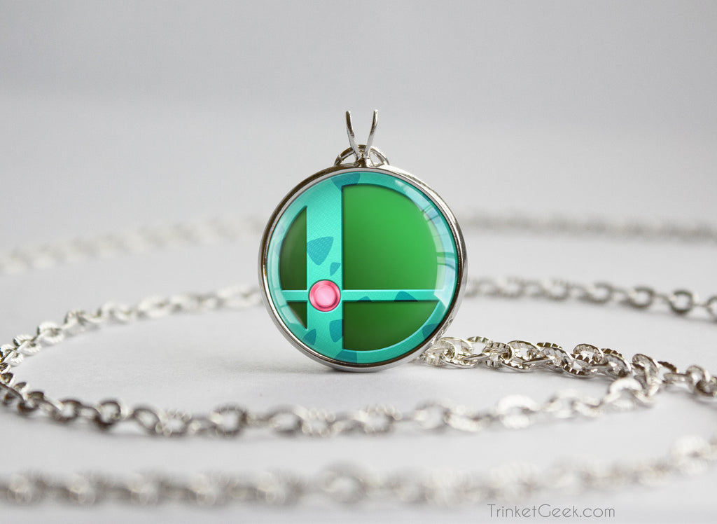 Ivysaur Smash Ball necklace