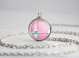 Super Smash Ball Jigglypuff necklace