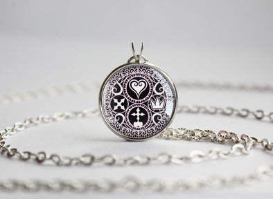 Kindom Hearts pendant Ultimania Trinity