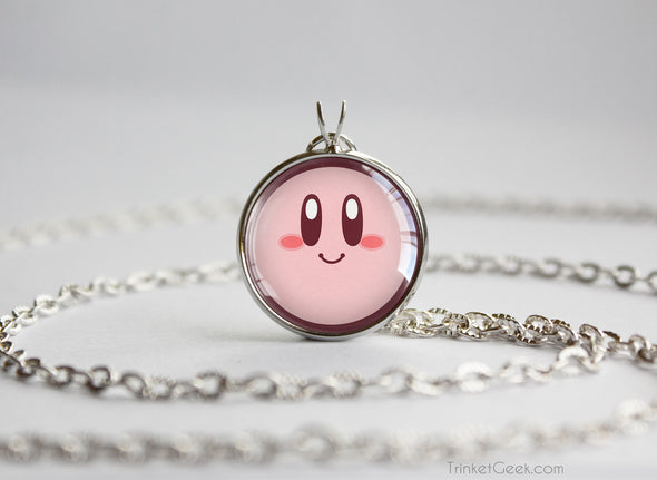 Kirby necklace pendant