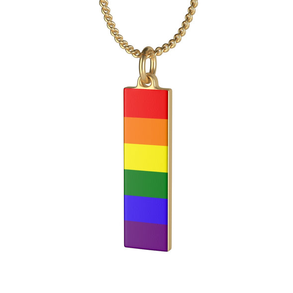 LGBT Rainbow Necklace