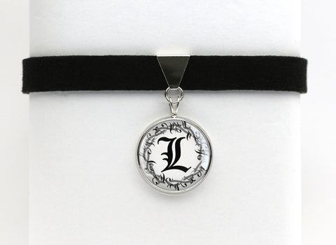 Death Note Choker Necklace L